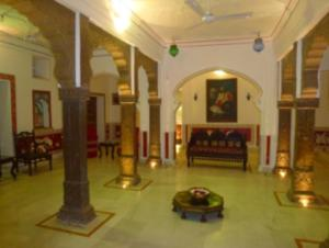 The lobby or reception area at Dev Niwas - Heritage Hotel