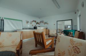 A seating area at Hotel Quinta dos Cedros