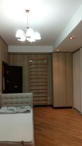 Uma TV ou centro de entretenimento em Dilyara Alieva 237 Apartment