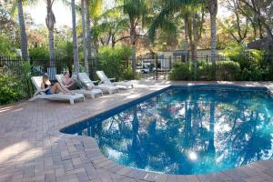 The swimming pool at or near Adelaide Caravan Park - Aspen Holiday Parks