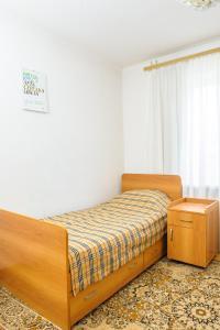 Кровать или кровати в номере Ростов Хостел