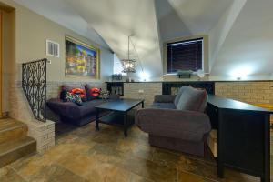 Гостиная зона в Апартаменты Сити