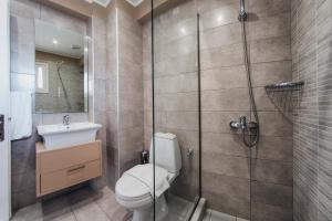 Ένα μπάνιο στο Iliada Beach Hotel