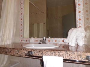 Un baño de Apartamentos Chinyero