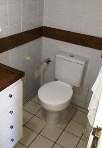 A bathroom at Flat em Boa Viagem - Recife