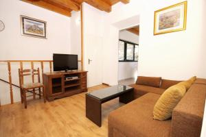 A seating area at Apartments with WiFi Zrnovo, Korcula - 9214
