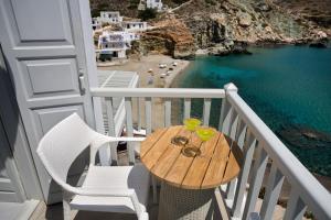 Μπαλκόνι ή βεράντα στο Blue Sand Boutique Hotel & Suites