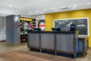 The lobby or reception area at Hampton Inn Parker, AZ
