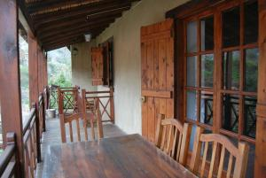 A balcony or terrace at Xenis House