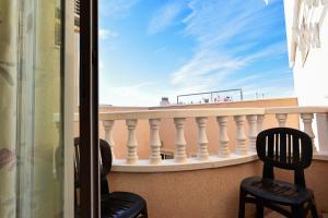 Un balcón o terraza de Apartment Finlandia