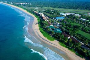A bird's-eye view of Koggala Beach Hotel