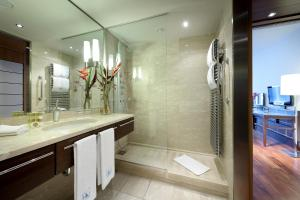 A bathroom at Eurostars Berlin