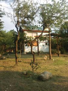 El edificio en el que está the country house