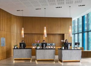 The lobby or reception area at Radisson Blu Hotel, Birmingham