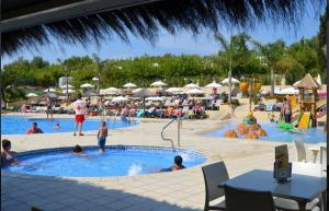 The swimming pool at or near Camping Sènia Tucan