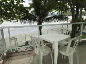 Uma varanda ou terraço em Pousada Vila Verde