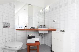 Ein Badezimmer in der Unterkunft Prague Letna Apartments