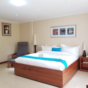 ザ サンクチュアリ ホテル リゾート アンド スパにあるベッド