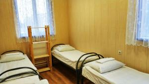 A bed or beds in a room at Hostel Korona Khimki