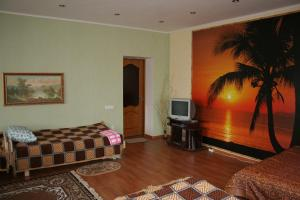A television and/or entertainment center at Villa Ruben