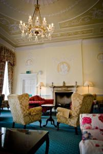 A seating area at Culloden House Hotel
