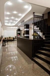 Lobby/Rezeption in der Unterkunft Hotel Orlando