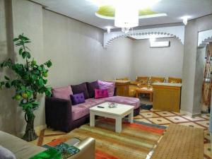 A seating area at appartement Annakhil