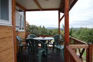 Un balcón o terraza de Camping El Picachuelo