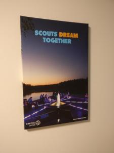 Телевизор и/или развлекательный центр в Scouts' Hostel