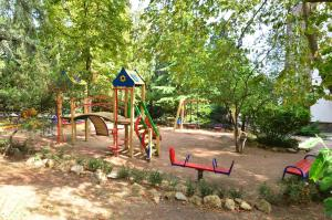 Children's play area at Villa Kamilla Inn