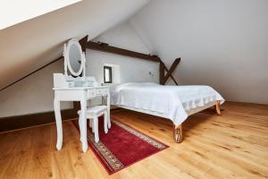 Cama o camas de una habitación en Apartman atelier Paral