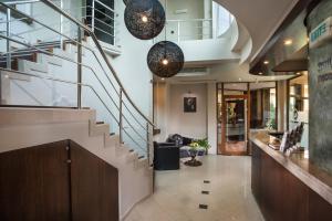 The lobby or reception area at Uniqato Hotel