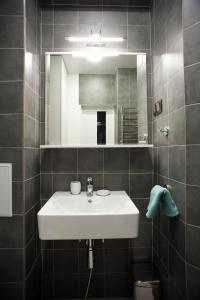 Ванная комната в Romantic place apartment in Baikal Hill Listvyanka