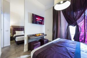 Cama o camas de una habitación en Hotel California