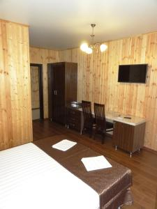 A television and/or entertainment center at Guest House Ritsa
