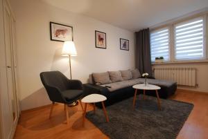 Część wypoczynkowa w obiekcie StayLikeHome Lux Apartment Zakopane