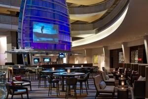 A restaurant or other place to eat at Atlanta Marriott Marquis