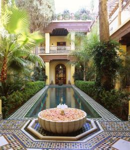 The swimming pool at or near Riad Al Moussika