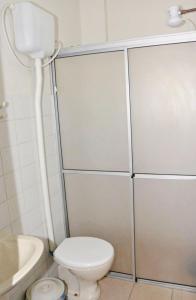 Um banheiro em Pousada Banana House