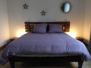 Un ou plusieurs lits dans un hébergement de l'établissement La Terrasse des Forges