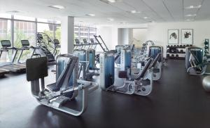 The fitness center and/or fitness facilities at Atlanta Marriott Marquis