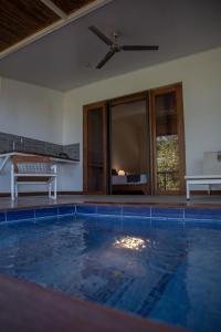 The swimming pool at or near Rancho Capulin B&B
