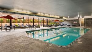The swimming pool at or near Best Western Plus Milwaukee West