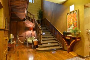 The lobby or reception area at Hotel Dei Pittori