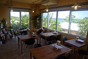 A restaurant or other place to eat at Beach Village Nosoko