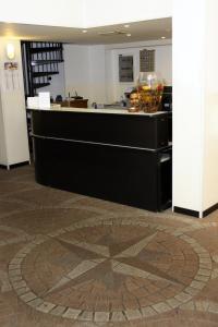The lobby or reception area at Hotel Nettuno