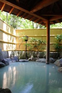 The swimming pool at or near Oyado Kiyomizuya