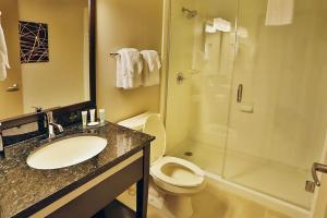 A bathroom at Best Western Harvest Inn & Suites
