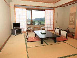 A seating area at Daisenya
