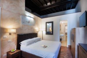 Cama ou camas em um quarto em Navona Luxury Apartments